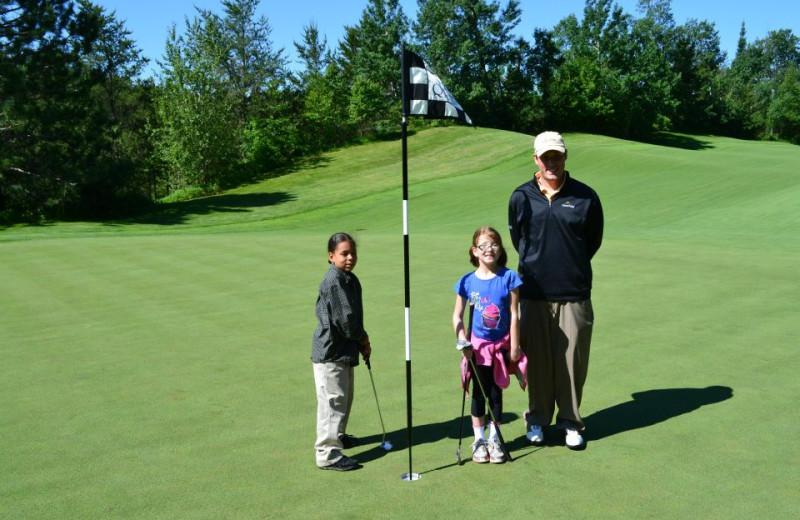 Golfing at Giants Ridge Golf and Ski Resort.