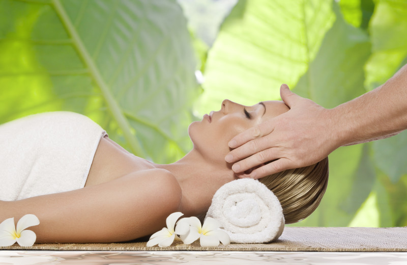 Spa treatments at TradeWinds Island Grand.