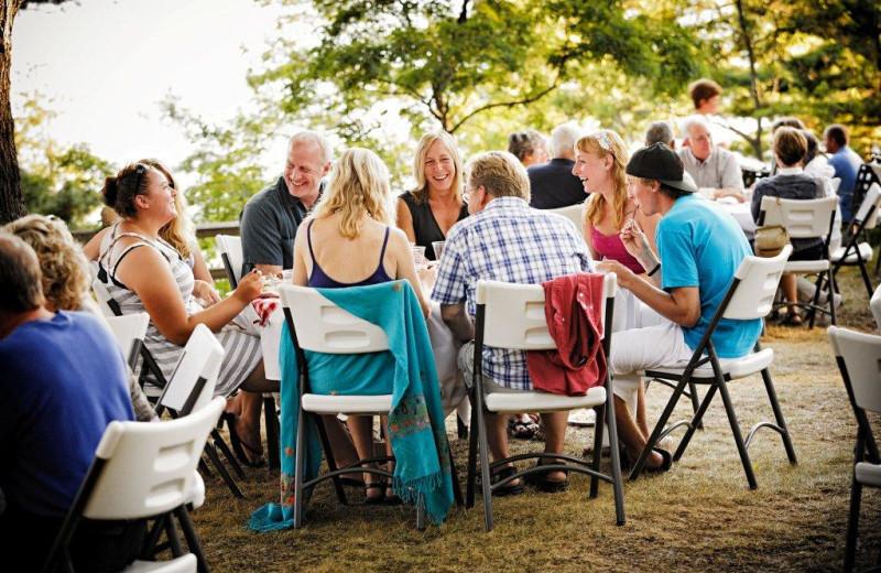 Groups at Chimney Corners Resort.