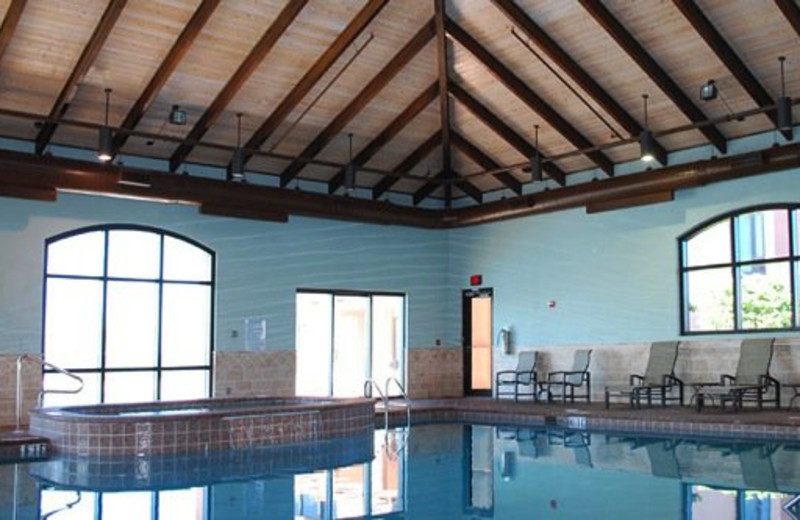 Indoor Pool View at Seachase