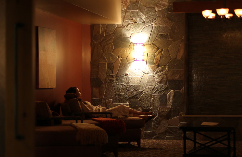 Spa Sanctuary room at Alluvia Spa & Wellness Retreat, Cheyenne Mountain Resort's on-site spa.