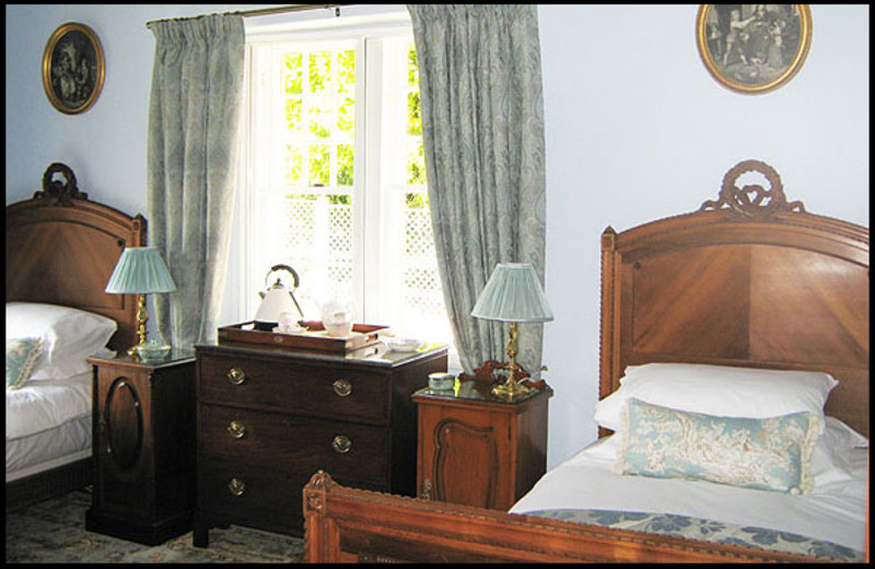 Guest room at Wellfield House B&B.