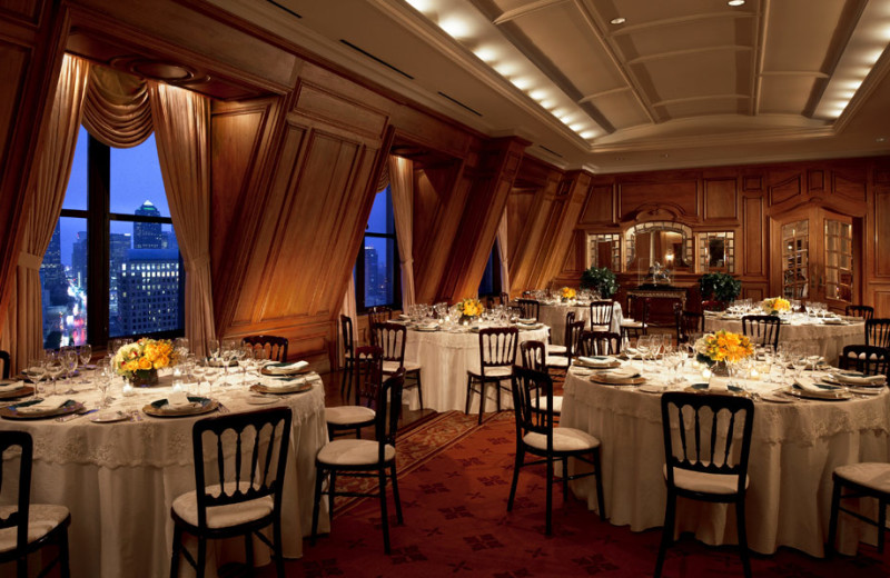 Dining at Rosewood Hotels and Resorts.