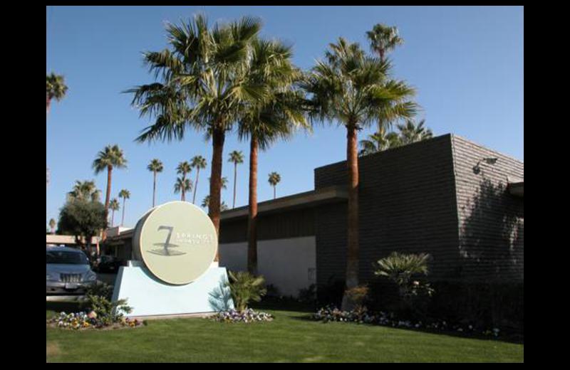 Exterior view of 7 Springs Inn & Suites.