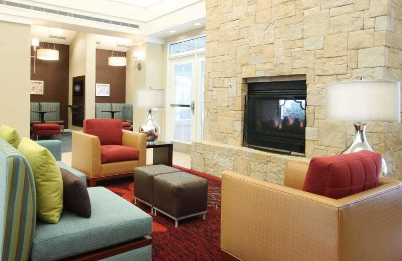 Lobby at Residence Inn Tucson Williams Centre.