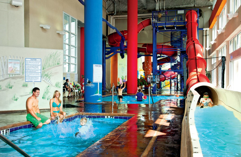 Rental indoor pool at Condo World.