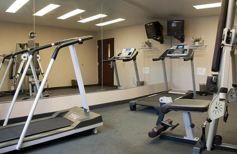 Fitness room at The Garibaldi House Inn.
