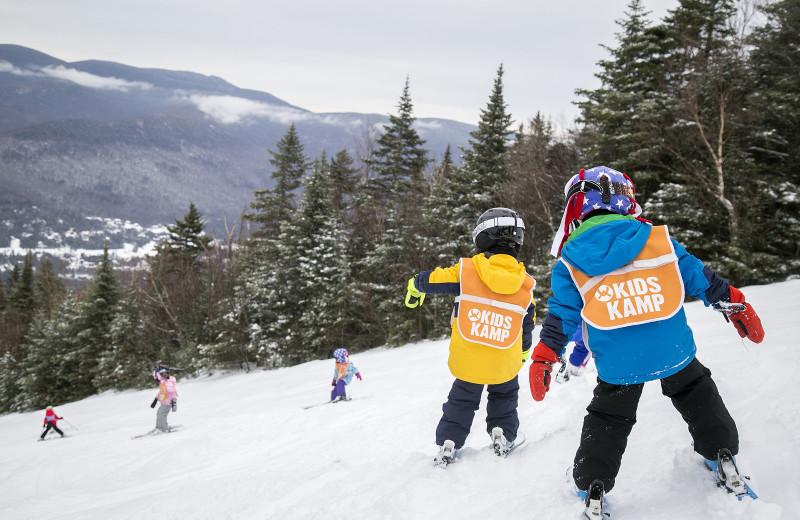 Ski at Waterville Valley.