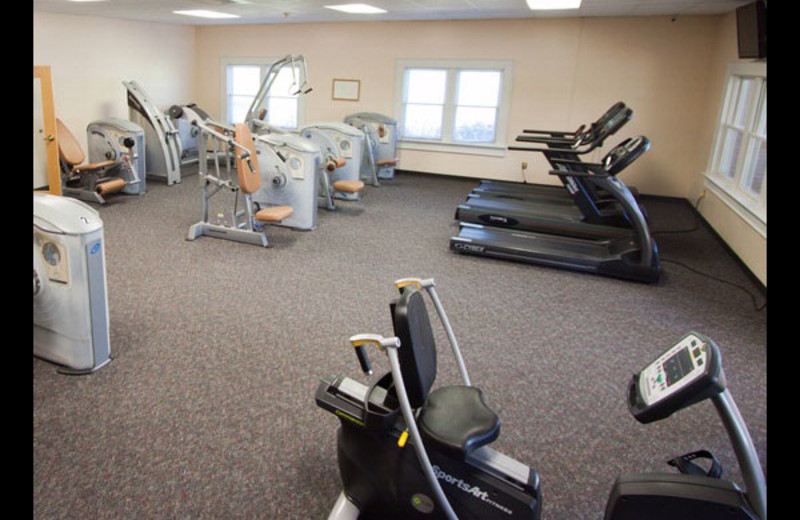 Fitness room at Lake Junaluska Conference and Retreat Center.