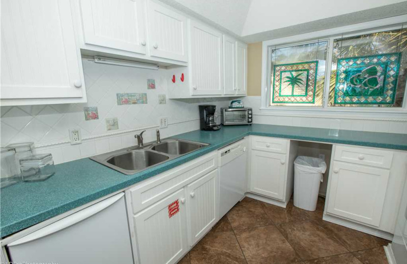 Kitchen at Holiday Isle Properties - South Bay by the Gulf 124.