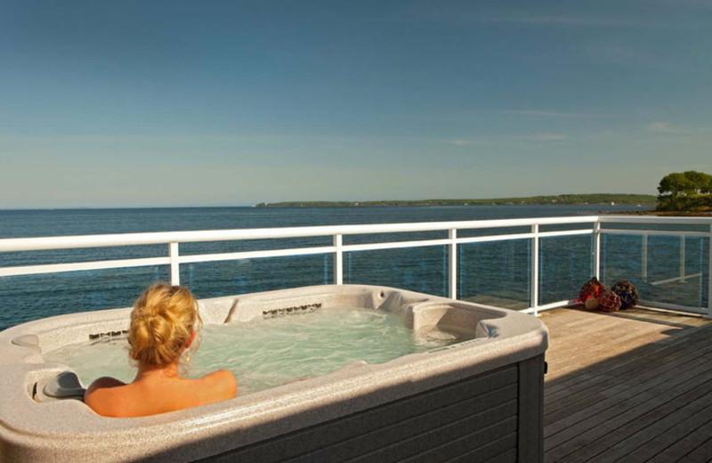 Private Hot Tubs at The Samoset Resort