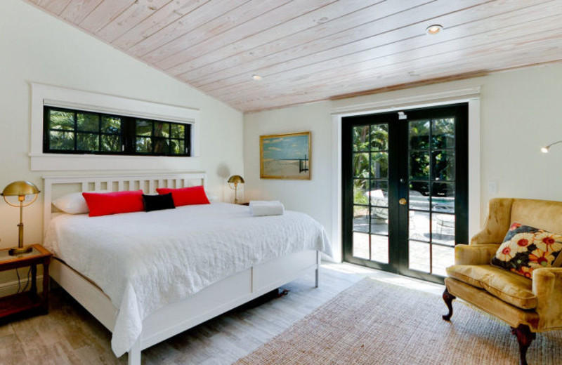 Rental bedroom at Island Real Estate.