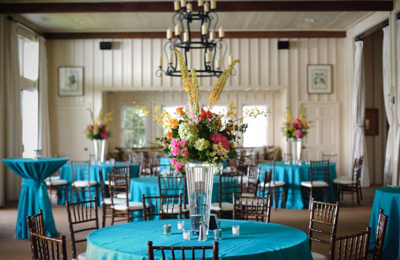 Wedding reception at High Hampton Inn & Country Club.