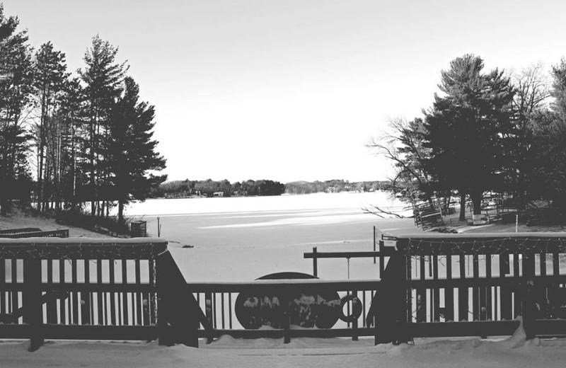 Winter at Baker's Sunset Bay Resort