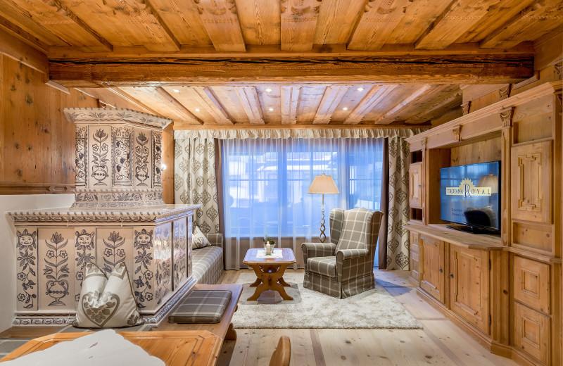 Guest suite at Hotel Trofana Royal.