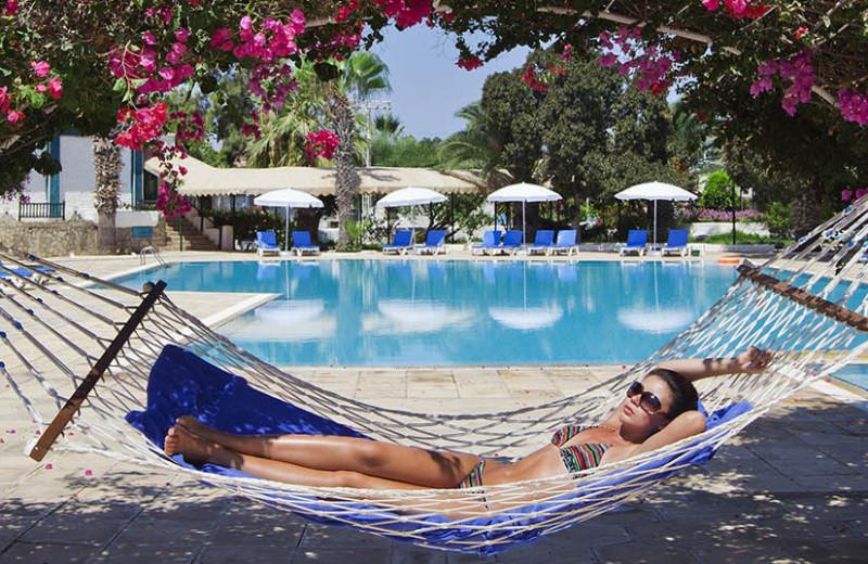 Outdoor pool at Merit Cyprus Gardens.