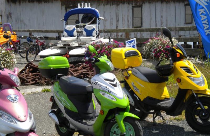 Scooter Rentals at Semiahmoo Resort