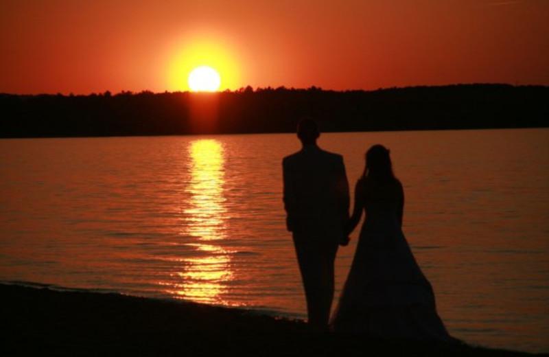 Romantic sunsets at ParkShore Resort.