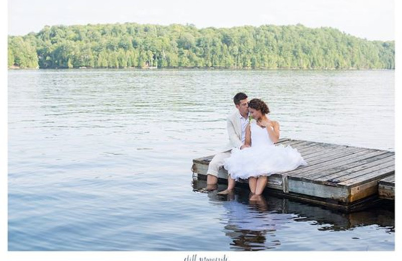 Weddings at Ogopogo Resort.