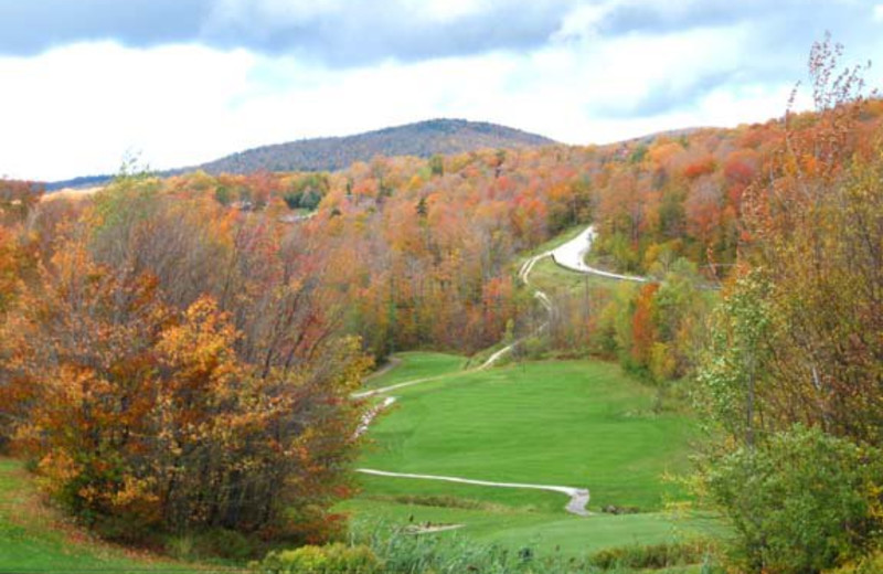 Golf course near Birch Ridge Inn.