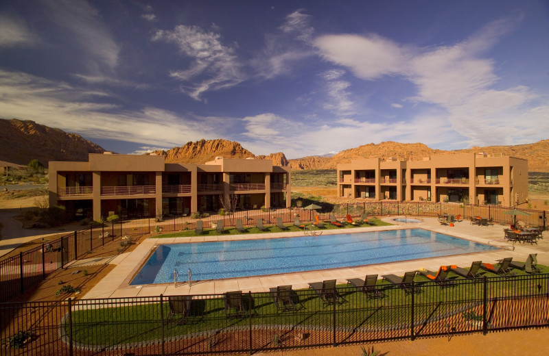 Outdoor pool at Red Mountain Resort & Spa.