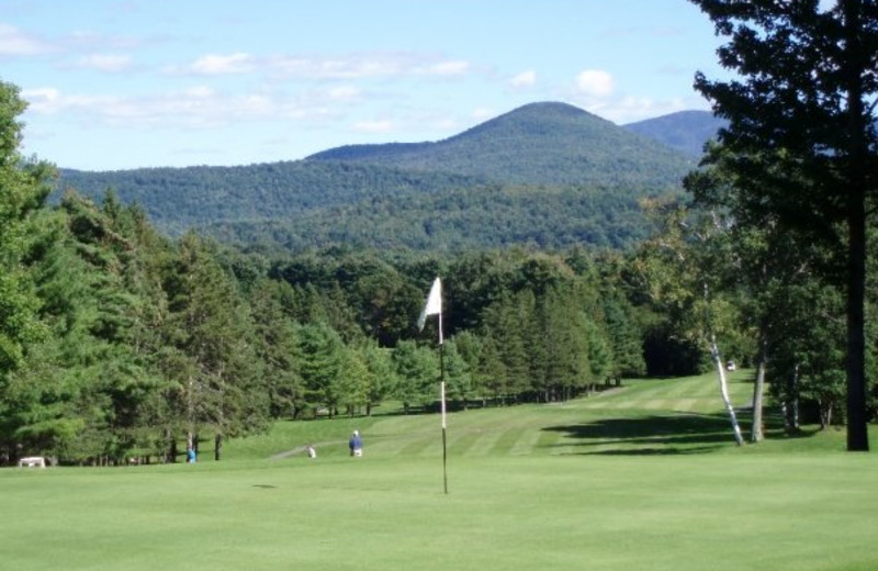 Golf course at Lake Morey Resort.