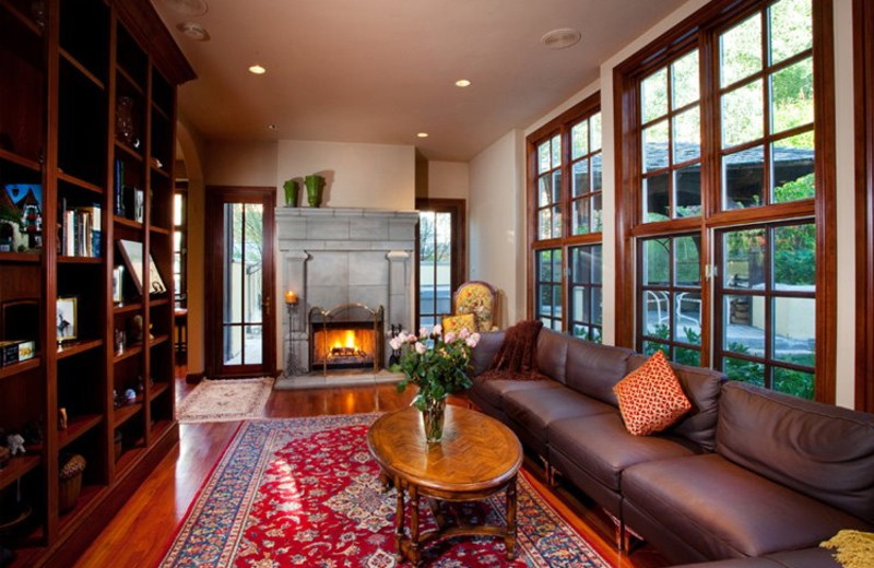 Rental Home Library at Triumph Mountain Properties