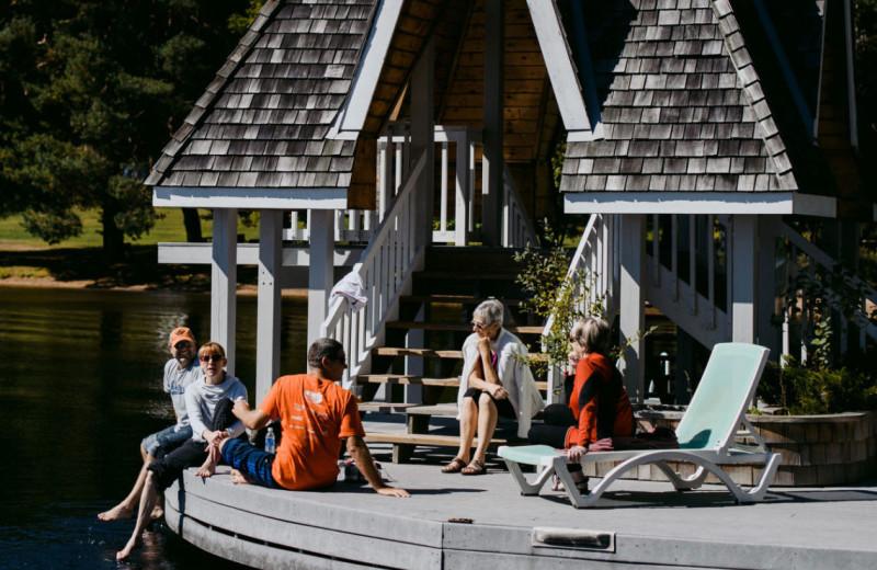 Groups at Port Cunnington Lodge & Resort.