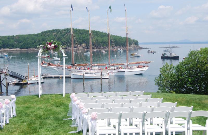 Wedding at Bar Harbor Inn & Spa.
