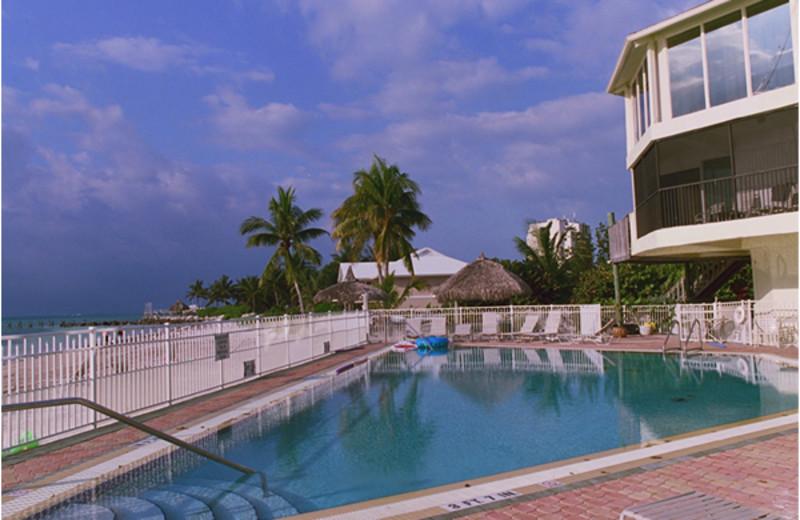 Outdoor pool at Cocoplum Beach & Tennis Club.
