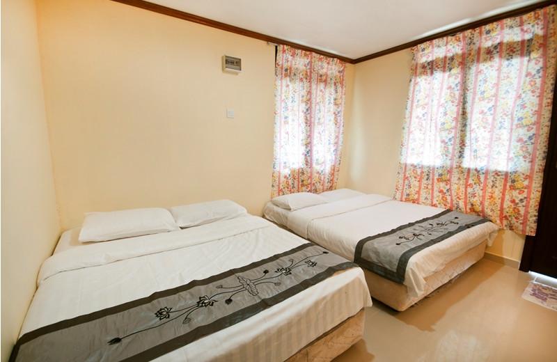 Guest room at Mutiara Beach Resort.