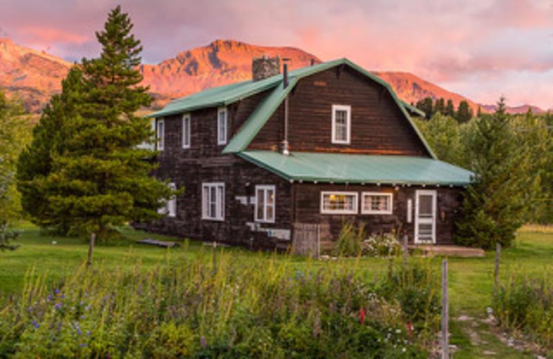 Main Lodge at Rising Wolf Ranch.