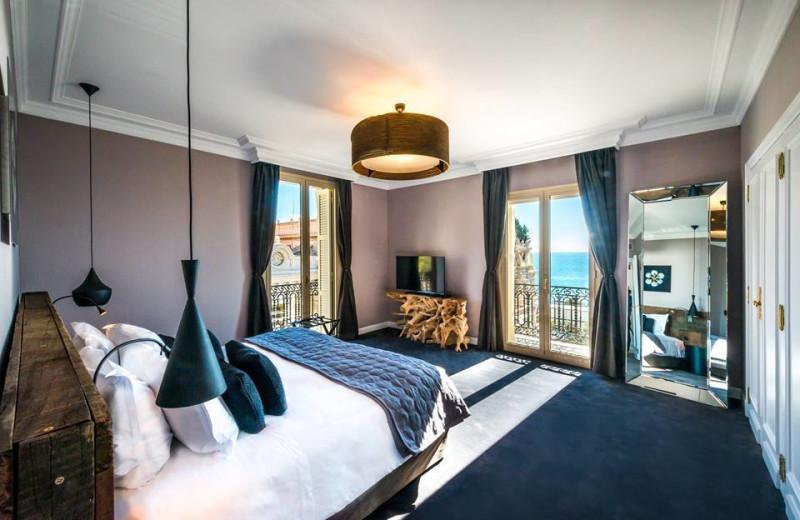 Guest room at Hotel de Paris.