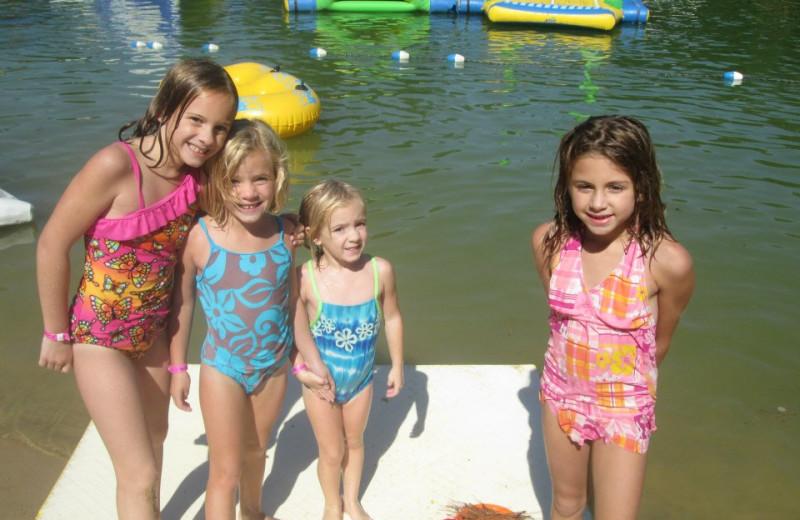 Swimming at Smokey Hollow Campground