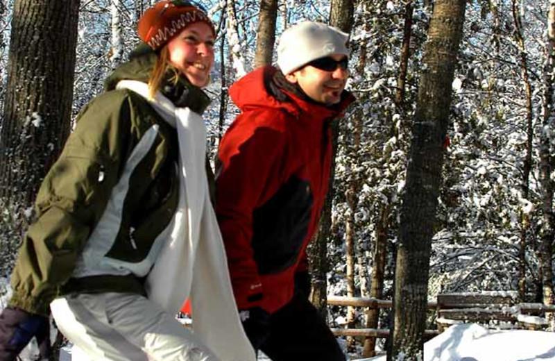 Snowshoeing at Residence Inn Mont Tremblant Manoir Labelle.