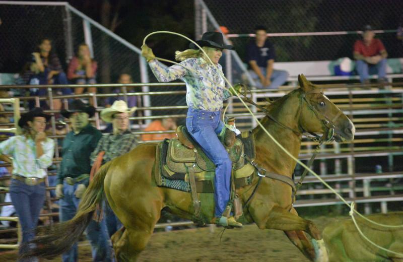 The Rodeo at Malibu Dude Ranch