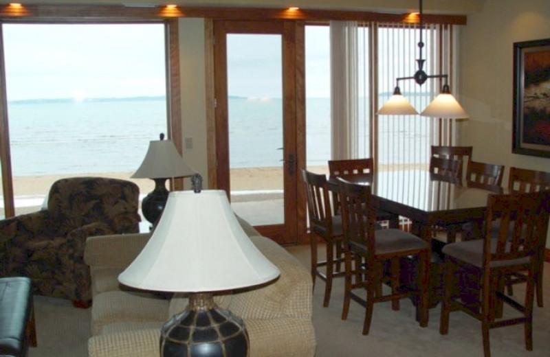 Guest room at Grand Beach/Sugar Beach Resort Hotel.