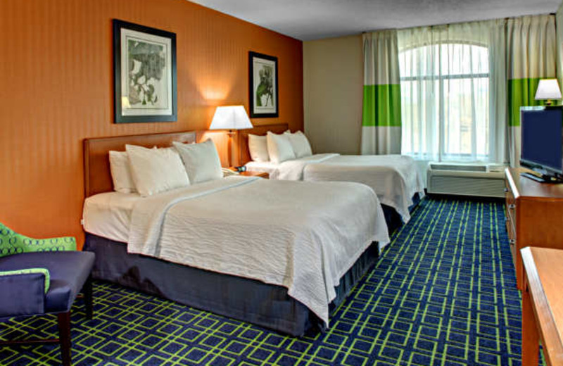 Guest Room at the Fairfield Inn & Suites Asheville South/Biltmore Square