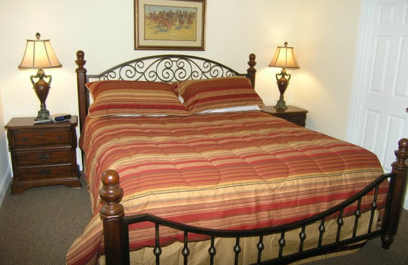 Guest room at Black Forest Bed & Breakfast & Luxury Cabins.