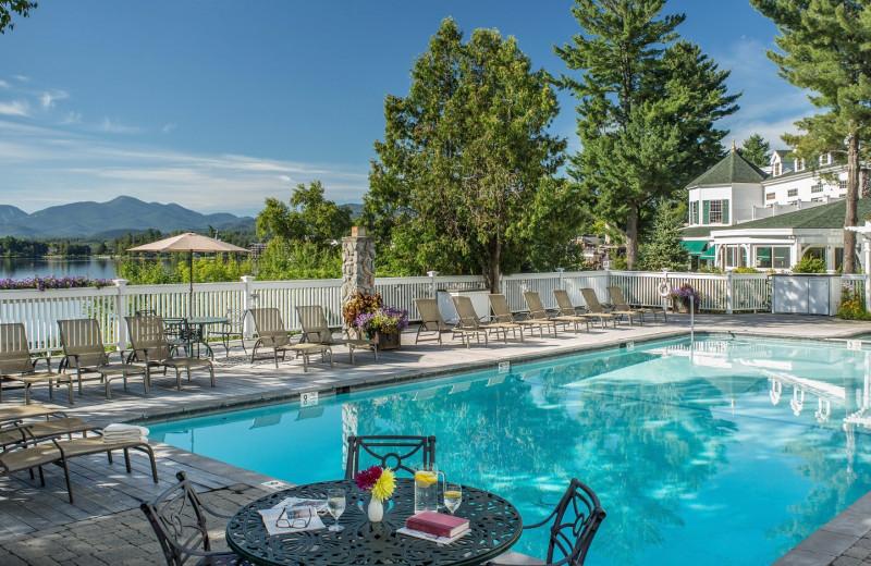 Outdoor pool at Mirror Lake Inn Resort & Spa.