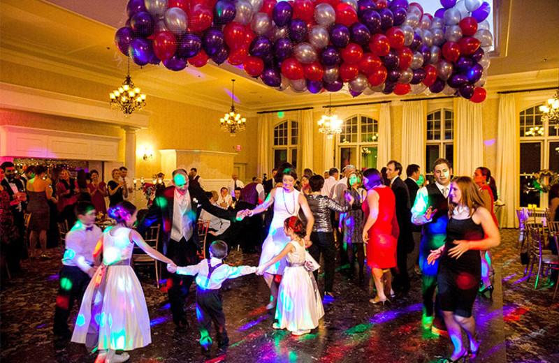Wedding reception at Cranwell Resort.