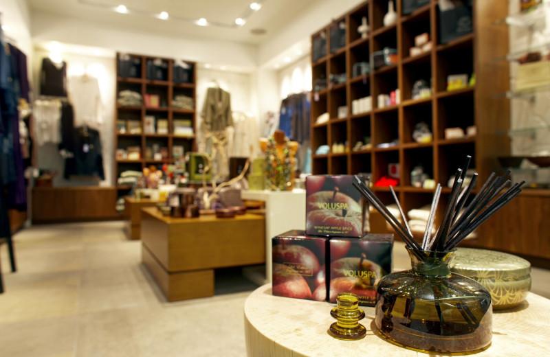 Gift shop at The Westin Riverfront Resort & Spa.