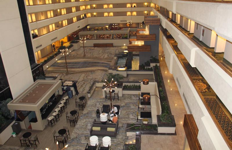 Interior view of Radisson Hotel & Conference Center Fresno.