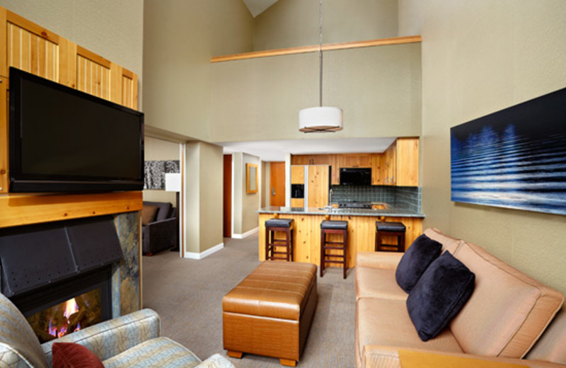 Guest suite at The Westin Resort & Spa, Whistler.