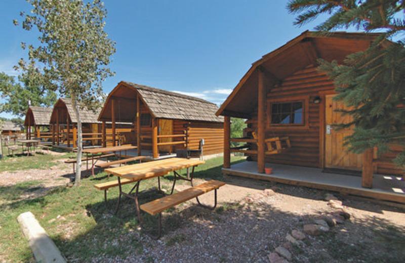 Cabins at Colorado Springs KOA.