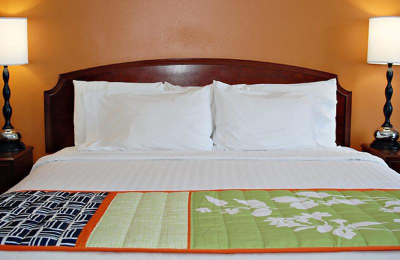 King Bedroom at Fairfield Inn Myrtle Beach