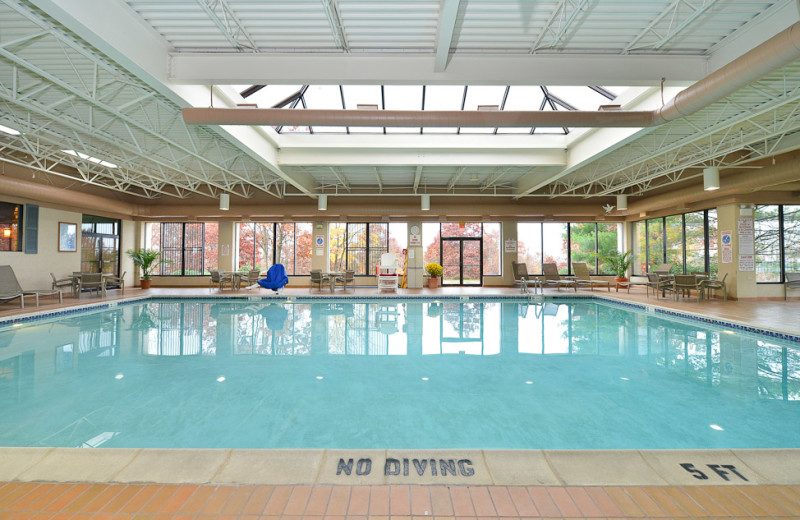 Indoor Pool at the Best Western Plus East Mountains