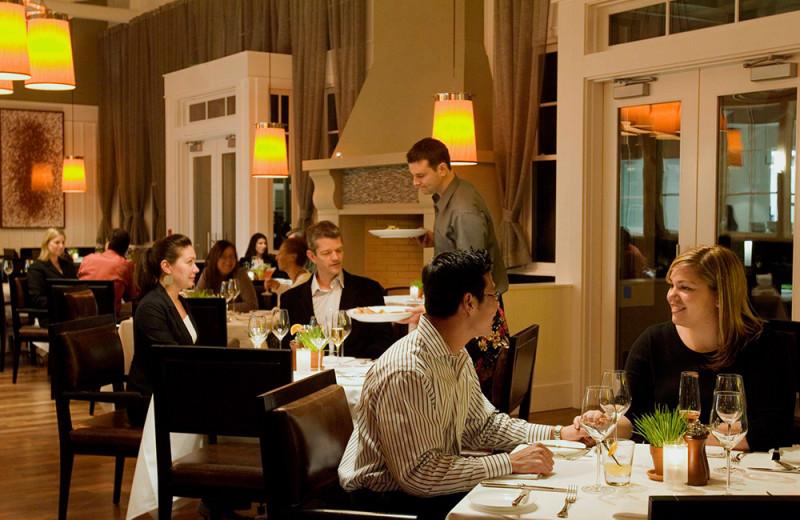 Dining at The Carneros Inn.