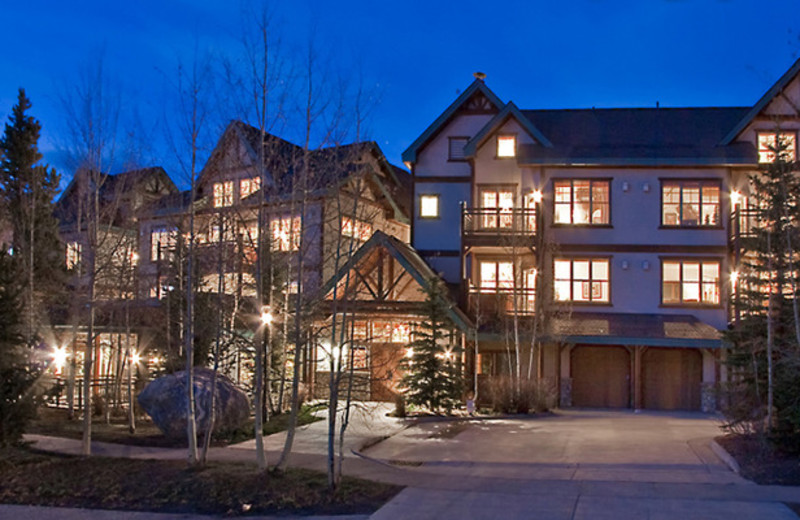 Exterior view of The Corral at Breckenridge Resort Condominiums.