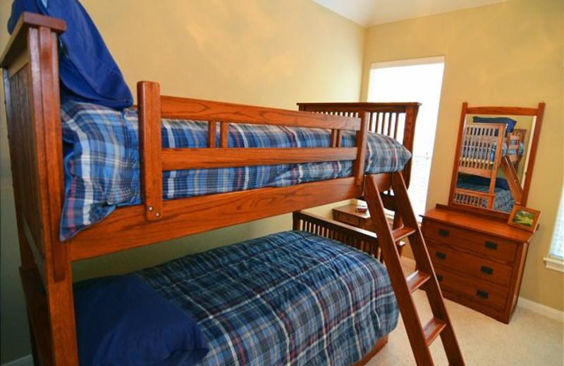 Rental bunk beds at Lake Travis & Co.